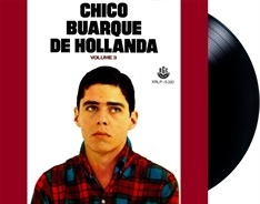 LP Chico Buarque De Hollanda - Volume 3 (1968)
