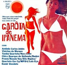 LP VÁRIOS - GAROTA DE IPANEMA - TRILHA (1967)(NOVO/LACRADO)