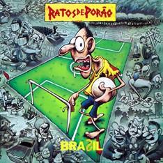LP RATOS DE PORÃO - BRASIL (180 gramas) (NOVO/LACRADO)