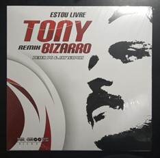 LP TONY BIZARRO - ESTOU LIVRE – REMIX (2019) NOVO/LACRADO