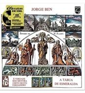 LP JORGE BEN - A TÁBUA DE ESMERALDA (VINIL 180 GRAMAS, NOVO/LACRADO)