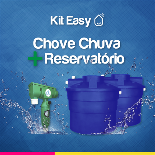 Kit Easy Chove Chuva