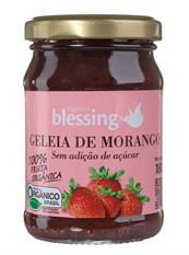 Geléia de morango sem açúcar 180g Blessing