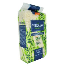 Arroz agulhinha polido orgânico 1kg Volkmann
