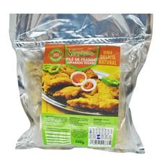 Filé de frango empanado 400g Vegabom