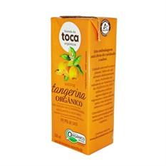 Suco de tangerina orgânico 200ml Fazenda da toca