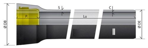 Tubo de ferro fundido dúctil para água