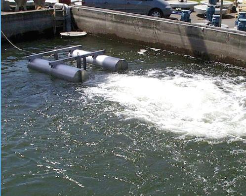 Aerador Submersível Flutuante séries AER-SL