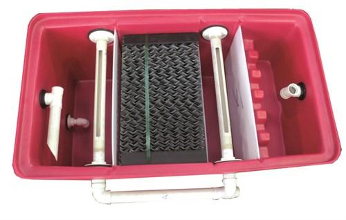 Separador água-óleo 2000 l/h