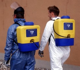 Aplicador de Dispersantes Back-Pack Sprayer
