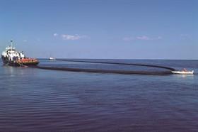 Barreira de contenção Weir Boom