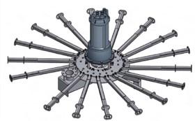 Aerador Submersível séries AER-SB E AER-SB/L