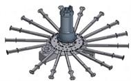 Aerador submersível - Séries AER-SB e AER-SB/L