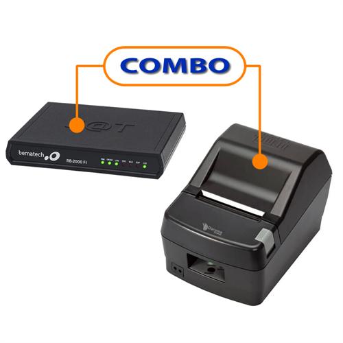 SAT FISCAL BEMATECH RB-2000 FI   +  IMPRESSORA DARUMA DR-800H USB GUILHOTINA