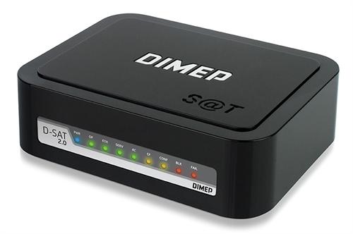 SAT FISCAL DIMEP D-SAT  +  IMPRESSORA SWEDA SI-300 USB GUILHOTINA