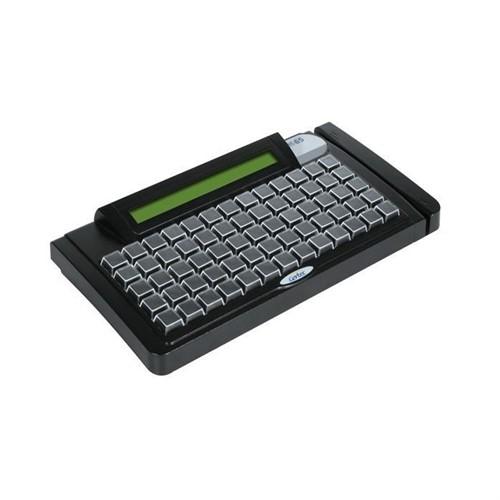 Teclado Reduzido Gertec TEC-E 65 com Display e Leitor (PS2)