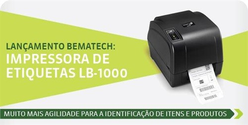 IMPRESSORA DE ETIQUETAS BEMATECH LB-1000 (BASIC)