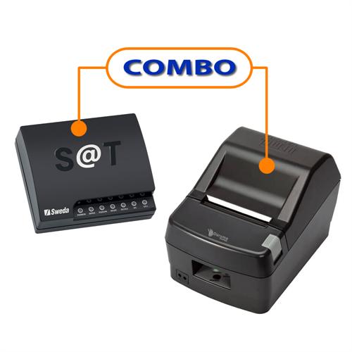 SAT FISCAL SWEDA SS-2000 + IMPRESSORA DARUMA DR-800H USB GUILHOTINA