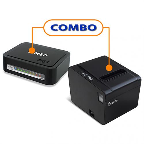 SAT FISCAL DIMEP D-SAT  +   IMPRESSORA TANCA  TP-650 USB