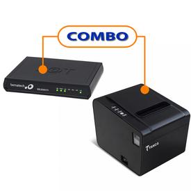 SAT FISCAL BEMATECH RB-2000 FI  +  IMPRESSORA TANCA  TP-650 USB GUILHOTINA