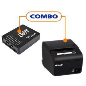 SAT FISCAL  TANCA TS-1000   +  IMPRESSORA SWEDA SI-300 USB GUILHOTINA