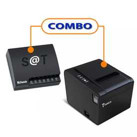 SAT FISCAL SWEDA SS-1000   +  IMPRESSORA TANCA  TP-650 USB GUILHOTINA