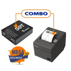 SAT FISCAL TANCA TS-1000   +  IMPRESSORA EPSON TM-T20 USB GUILHOTINA