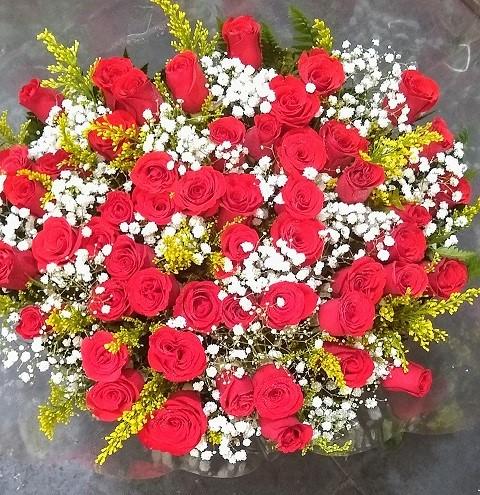 Bouquet 50 rosas