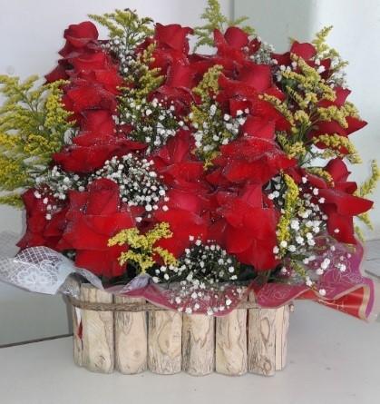 Espetáculo de rosas colombianas