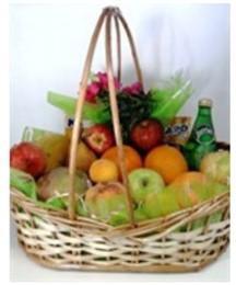 Linda cesta de frutas