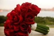 Bouquet de noiva Rosas - Vermelha