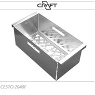 CESTO DE AÇO INOX CRAFT R2040F