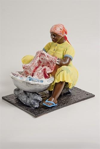 Escultura Popular - Lavadeira