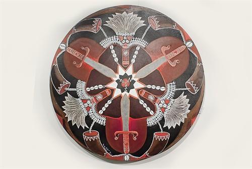 Quadro Mandala Iansã