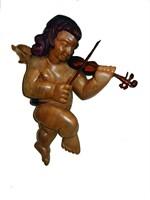 Anjo com Instrumento
