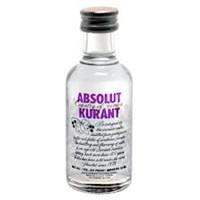 Vodka Absolut Kurant 50ml miniatura