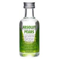 Vodka Absolut Pears 50ml miniatura