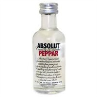 Vodka Absolut Peppar 50ml miniatura