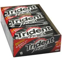 Chiclete Trident Fresh Intense Display 21 unid.