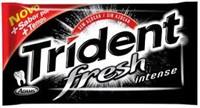 Chiclete Trident Fresh Intense