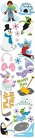 Adesivo Clearly Stickers - Snow Fun - Karen Foster