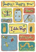 Karen Foster - I Like Bugs Stickers