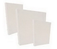 Cover-All - Bamboo Spine 8x8 for 1 in. Owire - White