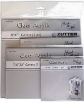 Bind-it-All - Clear Acrylic Covers - 8x8