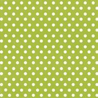 """Feltro Decorado 12x12"""" - Creative Imaginations - Spirit Lime Polka Dot"""