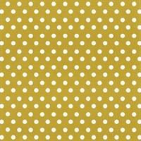 """Feltro Decorado 12x12"""" - Creative Imaginations - Lucky Gold Polka Dot"""