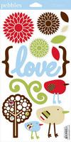 So Tweet Stickers - Pebbles Inc.