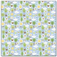 """Papel Decorado 12x12"""" - Doodlebug - Mother Nature - Mother Nature"""