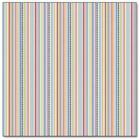 "Papel Decorado 12x12"" - Doodlebug - On the Go - Racing Stripes"