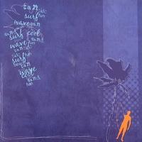 "Papel Decorado 12x12"" - DCWV - Summer - Fun in the Sun - 50"